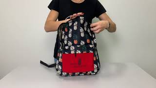 Молодежный рюкзак с Ананасами от компании Интернет-магазин рюкзаков Backpack4you. com. ua - видео