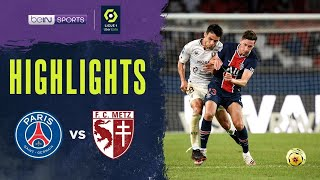 PSG 1-0 Metz Pekan 1