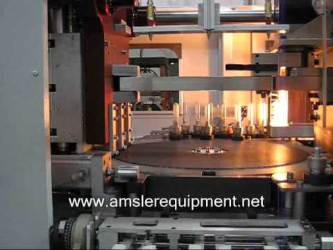 L32 3-Cavity Stretch Blow Molding Machine | Amsler Equipment  Inc. PET stretch Blow Molders - Linear - 1 to 4 Cavity - Designed and Built in Canada