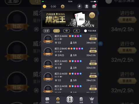 PokerKing Asia 扑克王 Traffic overview