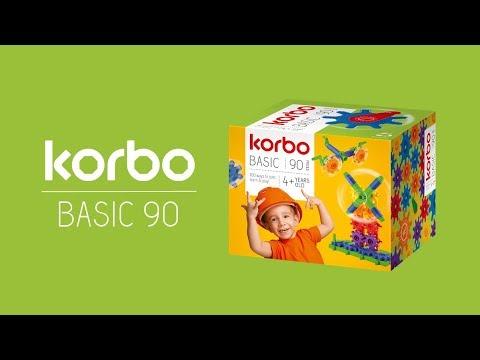 Конструктор Korbo Basic 90 эл в категории Игрушки