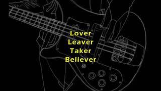 Lover Leaver Taker Believer - Greta Van Fleet (Lyric Video)