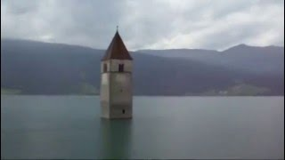 preview picture of video 'Lago di Resia - Reschensee'