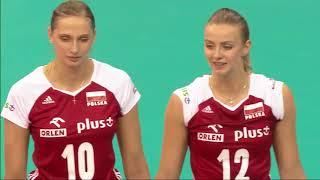 Women's VNL 2018: United States v Poland - Full Match (Week 1, Match 6)