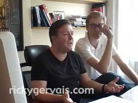 Ricky Gervais and Steve Merchant