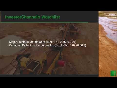 InvestorChannel's Palladium Watchlist Update for Thursday, ... Thumbnail