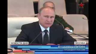 Путин показал лидерам СНГ военную мощь России