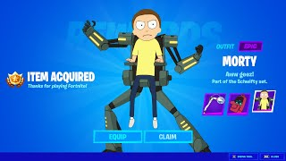 Say Hello To MORTY in Fortnite