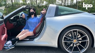 2021 NEW Porsche 911 Targa 4S (992) Road Review