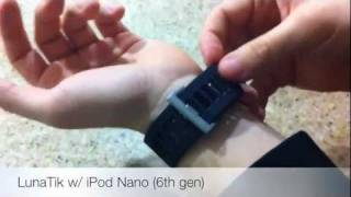 Review: LunaTik Watchband w/ iPod Nano (6th gen)