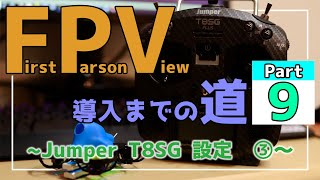 "【FPVドローン】Jumper T8SG PLUS Max/Min値 設定解説【How to setup Max/Min ""Jumper T8SG PLUS""】"