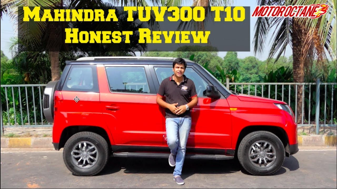 Motoroctane Youtube Video - Mahindra TUV300 T10 Review | MotorOctane