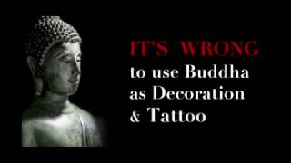 BUDDHA NOT FOR TATTOO