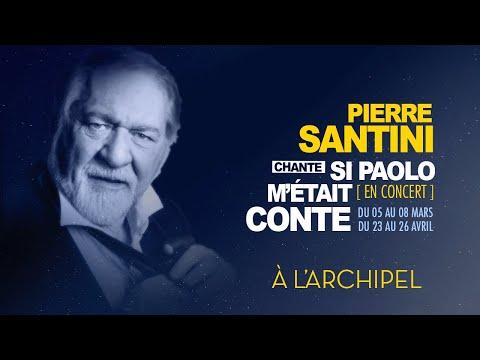 Pierre Santini chante Paolo Conte