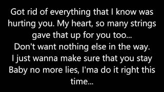 If I was your man - Joe (Lyrics)