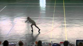 preview picture of video 'Coralie Twirling Blagnac 2011 demi-finale N3 Rochechouart'