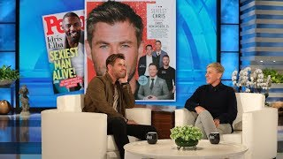 Chris Hemsworth on Being 'Demoted' as People Magazine's Sexiest Man Alive