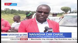 Police engage robbers in dramatic car chase in Naivasha