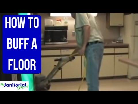 How To Buff A Vct Tile Floor In Birmingham Al