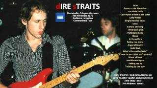 """Dire Straits """"Angel of Mercy"""" 1979-NOV-09 Cologne [AUDIO ONLY]"""