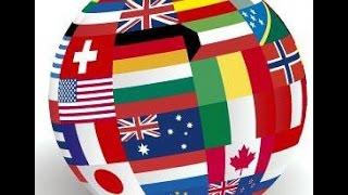 Países, ciudades, continentes, mares y oceános - Nacionalidades