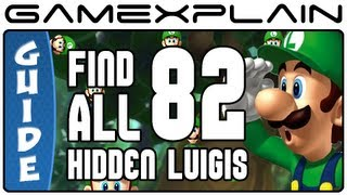 Find all 82 Hidden Luigi Locations in New Super Luigi U - Guide & Walkthrough