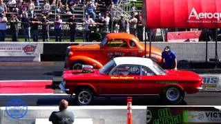 Gassers, 1st Qualifying  2018 Nostalgia Drags  - Most