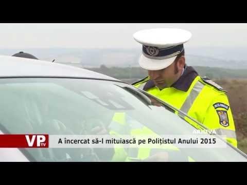 A încercat să-l mituiască pe Polițistul Anului 2015