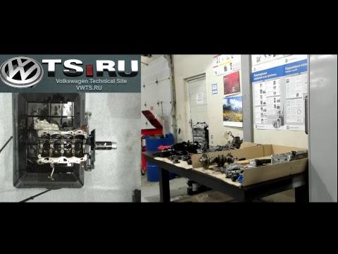 Фото к видео: Разборка двигателя CDAB 1.8TSI