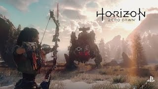 Horizon Zero Dawn E3 Debut Gameplay Trailer PS4
