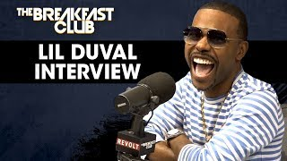 The Breakfast Club - Recording Artist Lil Duval Shares The Secret To His Perfect Hairline, Talks Dream Collabs + More