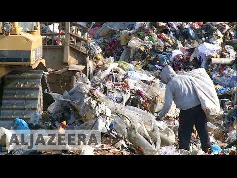Gaza ??: No way to properly dispose of waste