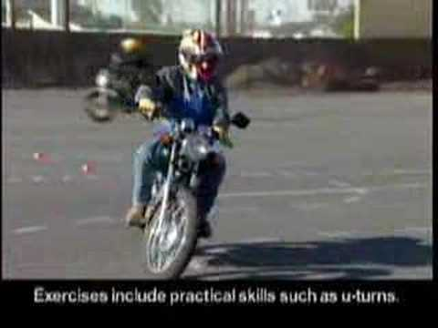 Motorcycle Safety Foundation Basic RiderCourse Highlights ...