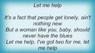 Aaron Tippin - I Can Help Lyrics