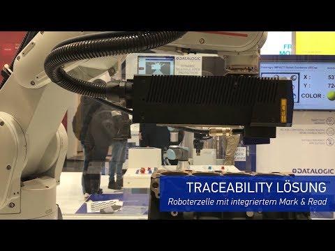 Datalogic @ SPS Nuremberg 2019 - Traceability Lösung