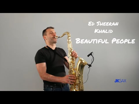 Ed Sheeran - Beautiful People (feat. Khalid) - Instrumental Saxophone Cover by JK Sax