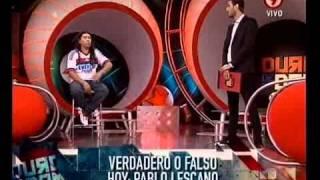 Verdadero O Falso Con Pablo Lescano (primera Parte).16-12-11
