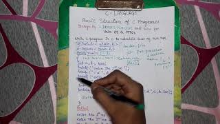 Download Youtube: BASIC STRUCTURE OF C PROGRAMMING-IN HINDI