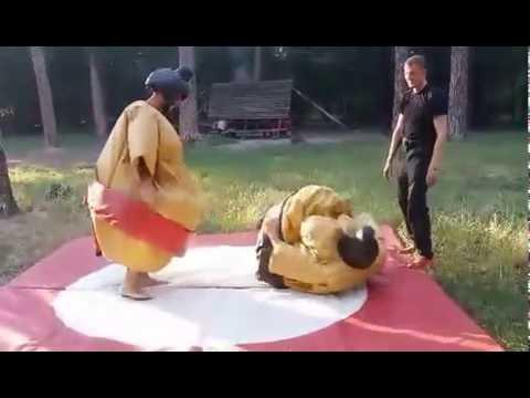 """Відео Розвага """"Боротьба сумо"""" 4"""