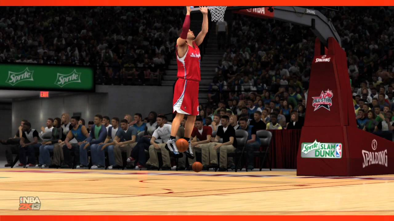 The Thousands Of New Animations In NBA 2K13 Include This Insane Dunk