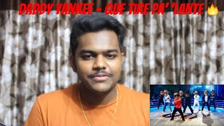 Daddy Yankee   Que Tire Pa' 'Lante (Official Video) | REACTION