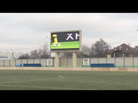 """Видео демонстрация работы светодиодного экрана на стадионе """"Авангард"""" г. Домодедово"""