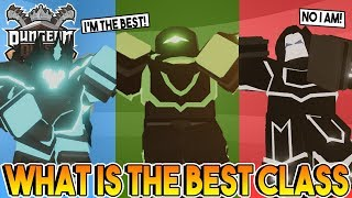 WHAT IS THE BEST CLASS IN DUNGEON QUEST ROBLOX