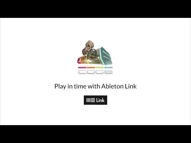 CoGe & Ableton Link