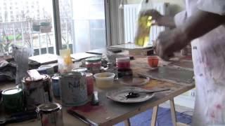 Shuilem, artiste laqueur sur le Quai de Seine