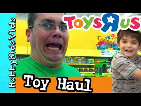 Toys R Us Toy Haul! Lego, TMNT, Minecraft, Princess + Store Reviews HobbyKidsVids
