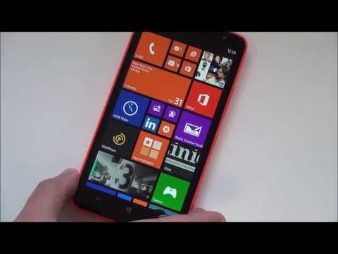 Nokia Lumia 1320 Hands on and First Impressions