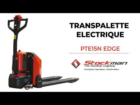 TRANSPALETTE ELECTRIQUE 1,5 T PTE15N EDGE - STOCKMAN
