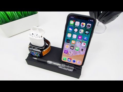 NEXGADGET 8 in 1 Aluminum Charging Stand Review [For iPhone, Apple Watch, AirPods, and Apple Pencil]