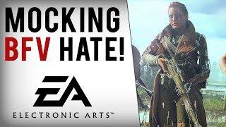 EA Devs Mock Battlefield V Hate, Get Political & Pledge To Fight On...?